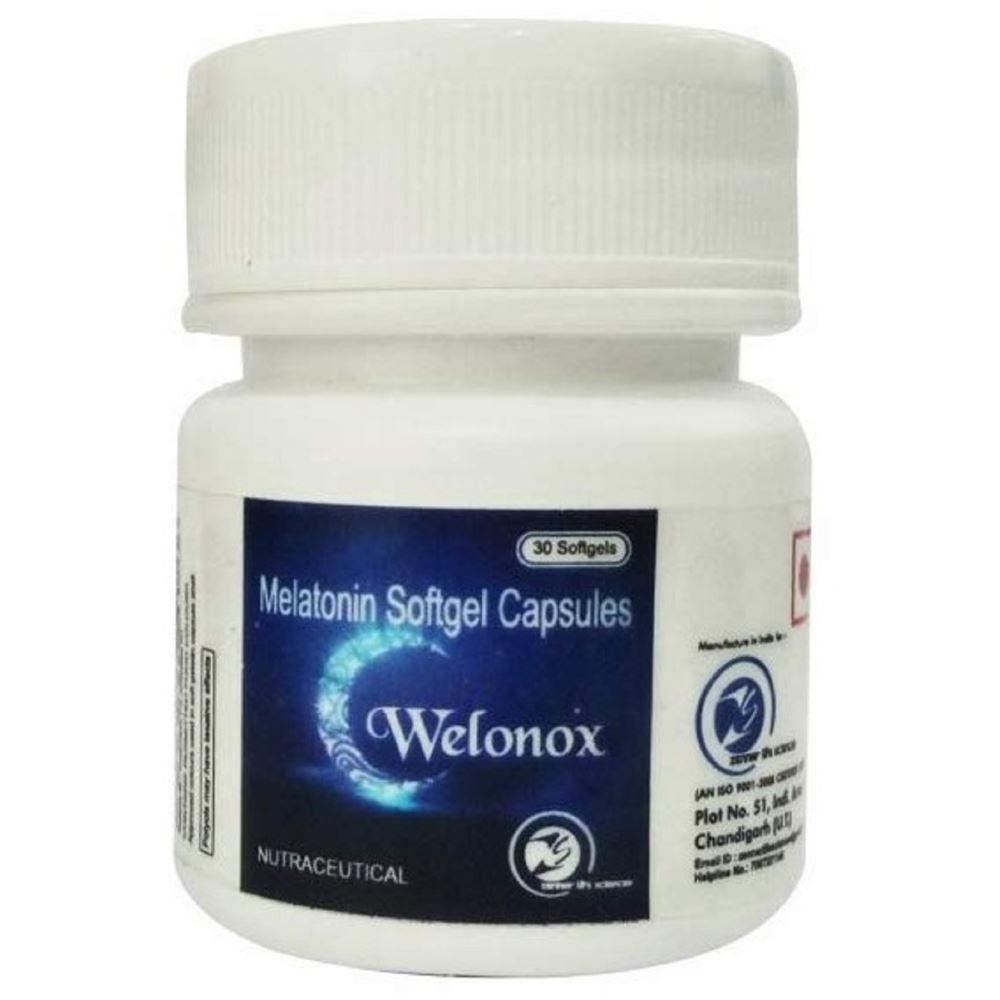 Welonox Sleeping Pills - Sleeping Tablets For Men & Women - Non Habbit (30caps)
