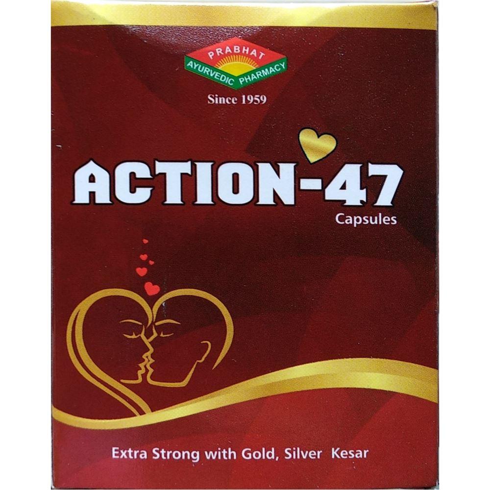 Prabhat Ayurvedic Action-47 Capsule (30caps)