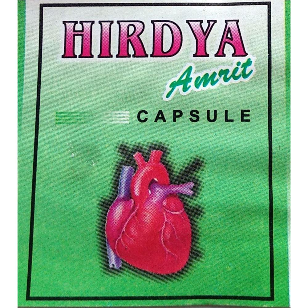 Prabhat Ayurvedic Hirdya Amrit Capsule (100caps)