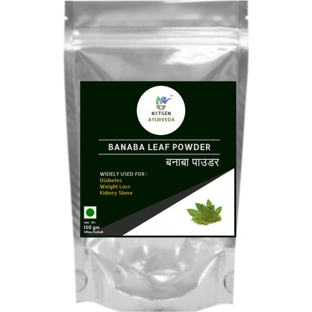 Nxtgen Ayurveda Banaba Leaf Powder (150g)