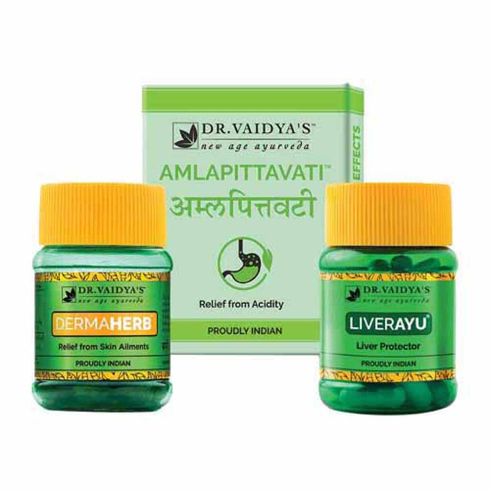 Dr. Vaidyas Ayurvedic Skin Allergy Pack (1Pack, Pack of 5)