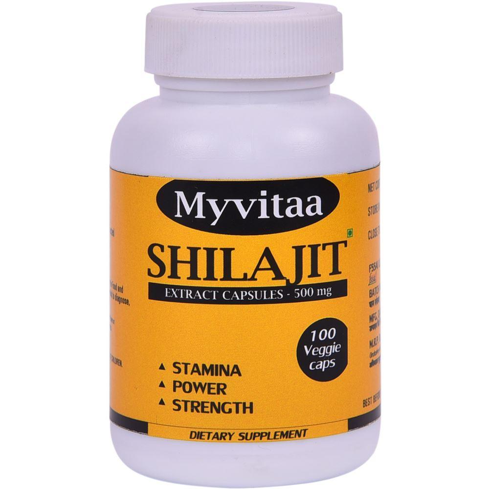 Myvitaa Shilajit Capsules (100caps)