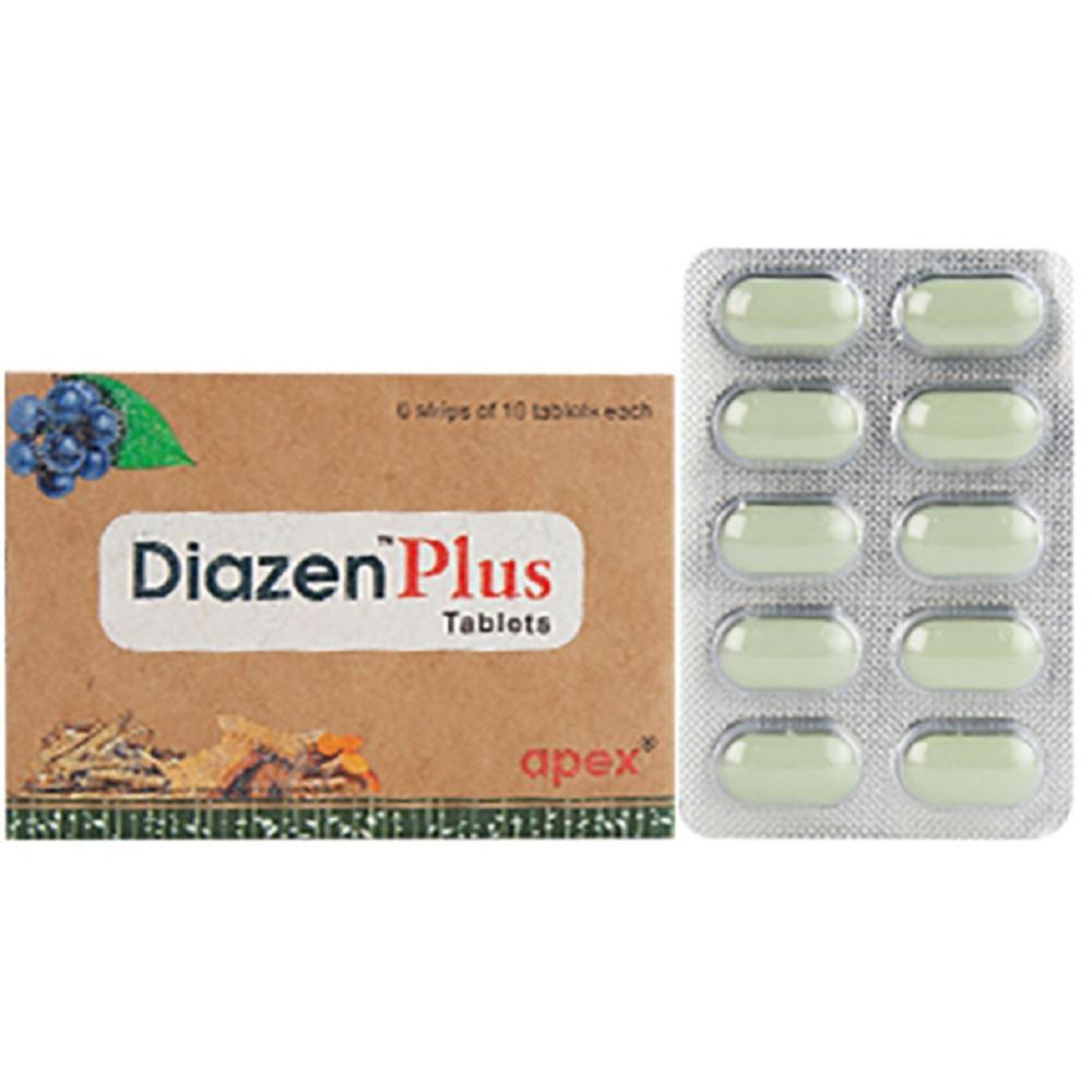 Green Milk Diazen Plus Tablet (10tab, Pack of 6)