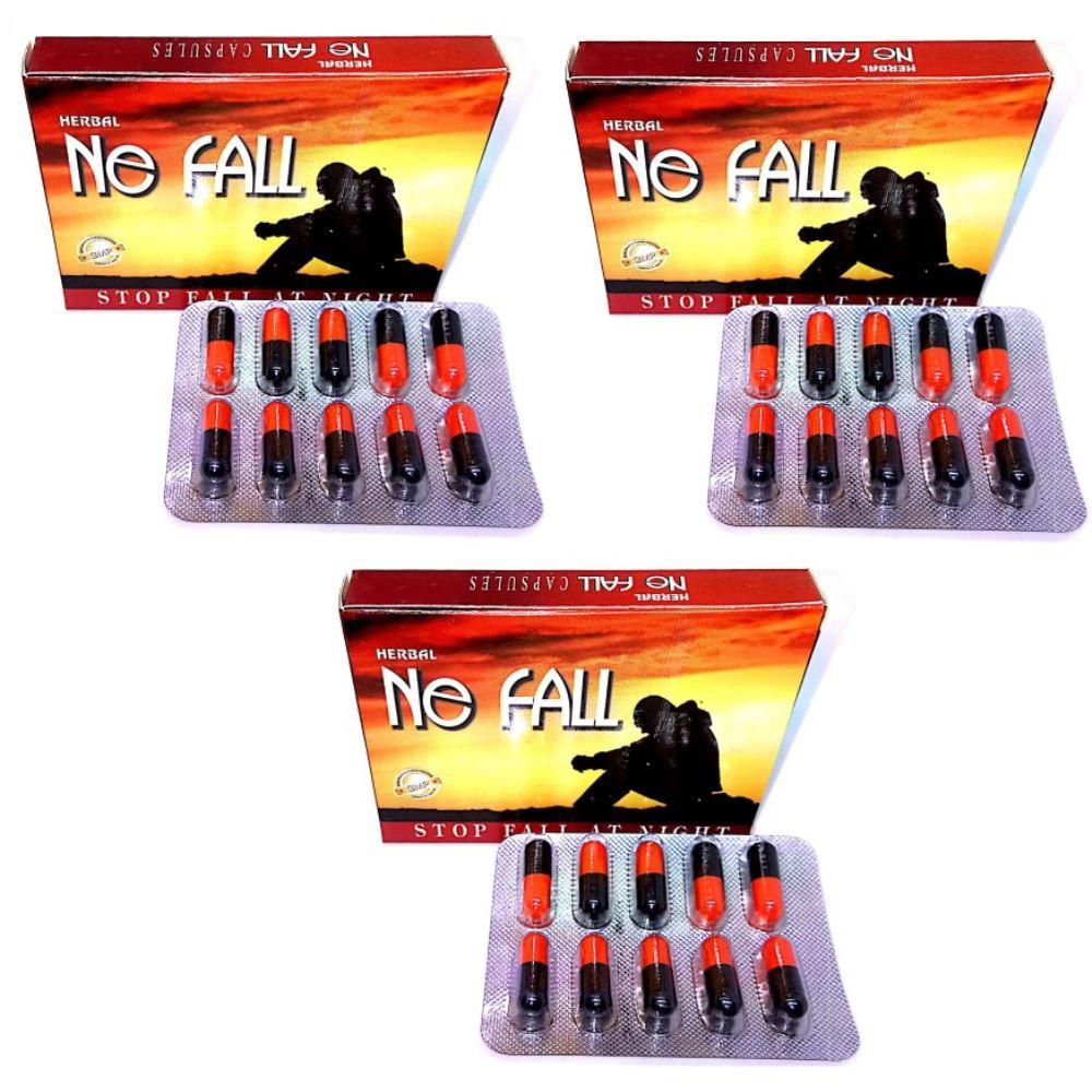 Dharmani Ne Fall Capsules - Night Fall Solutions (10caps, Pack of 3)