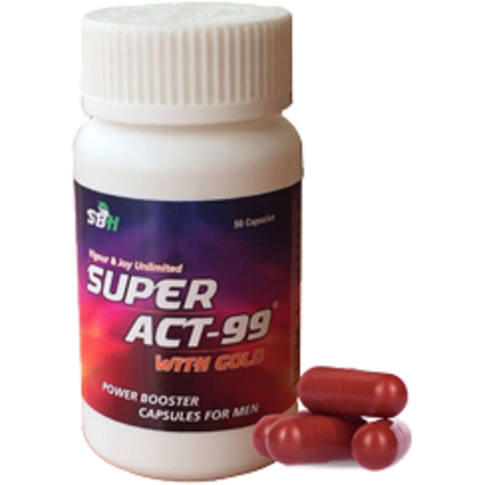 SBH Super Act-99 With Gold Capsules (10caps)
