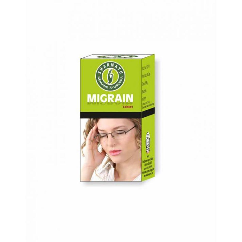 Sharmayu 100 Migrain Relief(S.O.S) Tablet (30tab)