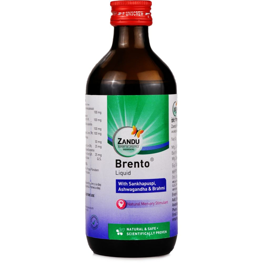 Zandu Brento Syrup (200ml)