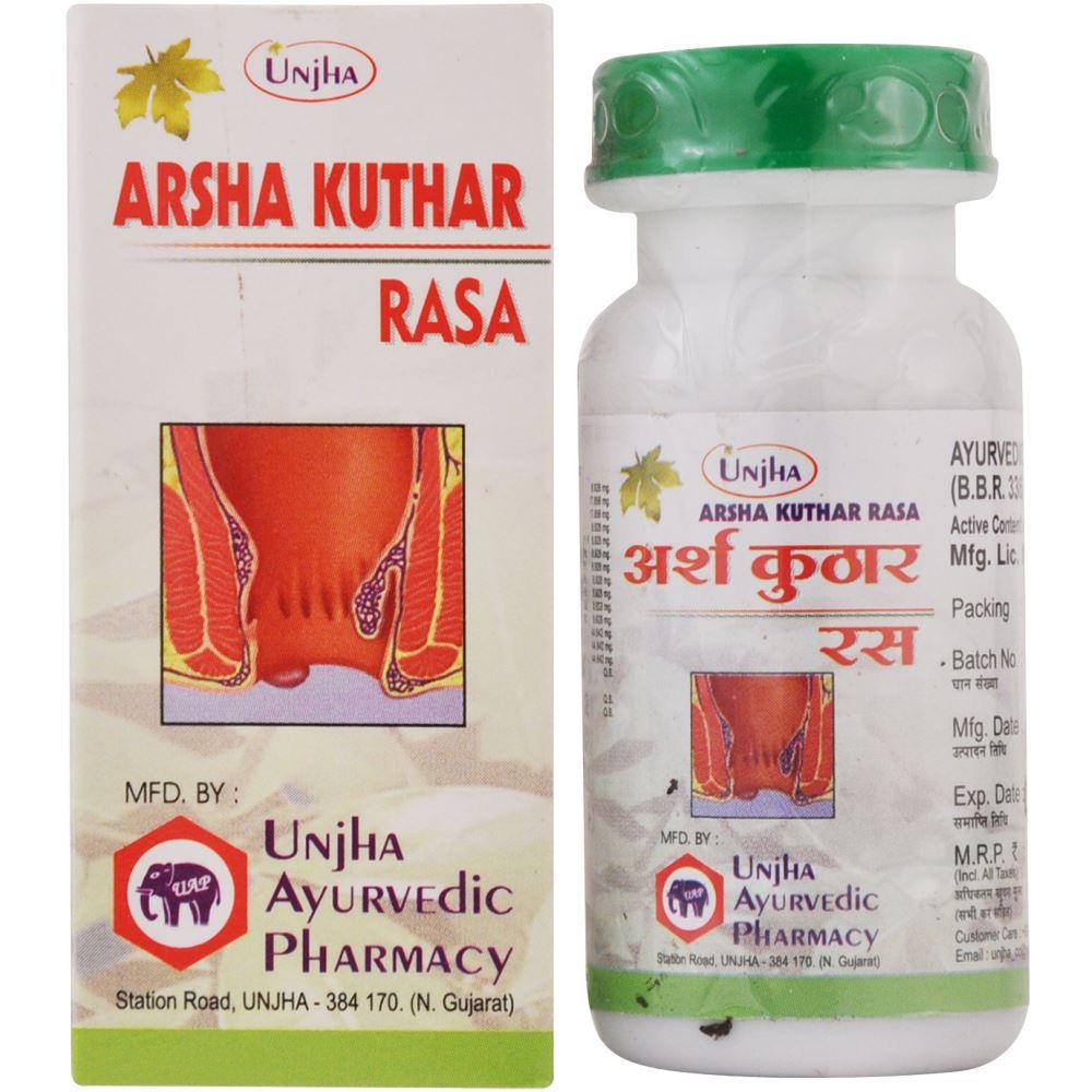 Unjha Arsha Kuthar Ras (40tab)