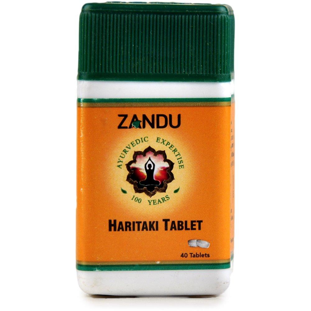 Zandu Haritaki Tablet (40tab)
