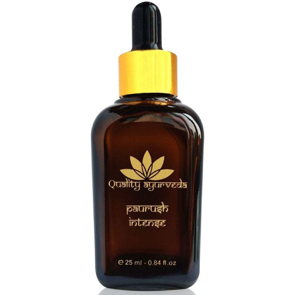 Quality Ayurveda Paurush Intense Oil For Men (25ml)