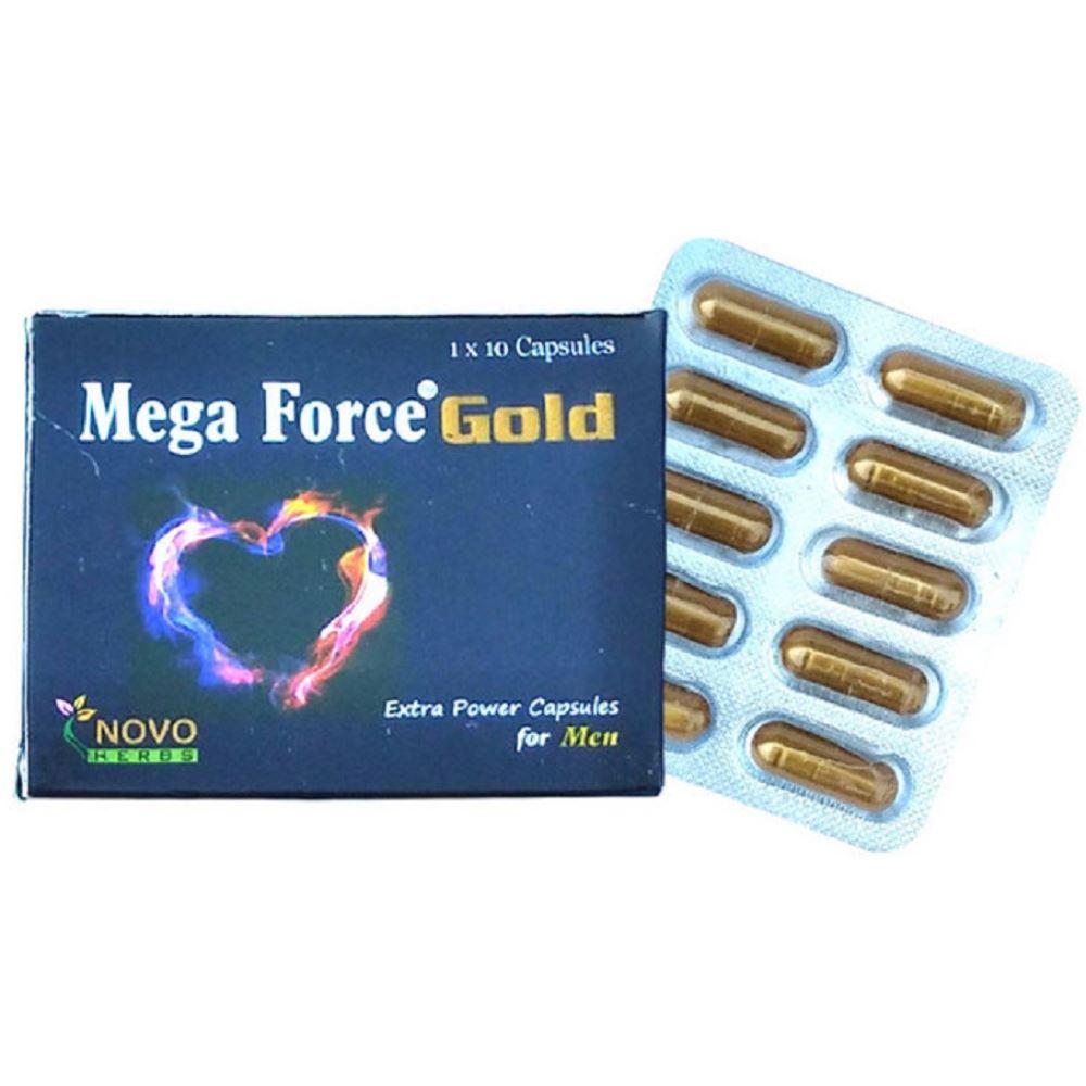 Nova Herbs Mega Force Gold Capsule (10caps)