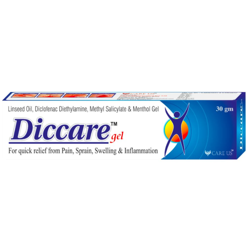 Care Us Diccare Pain Relief Gel (30g)