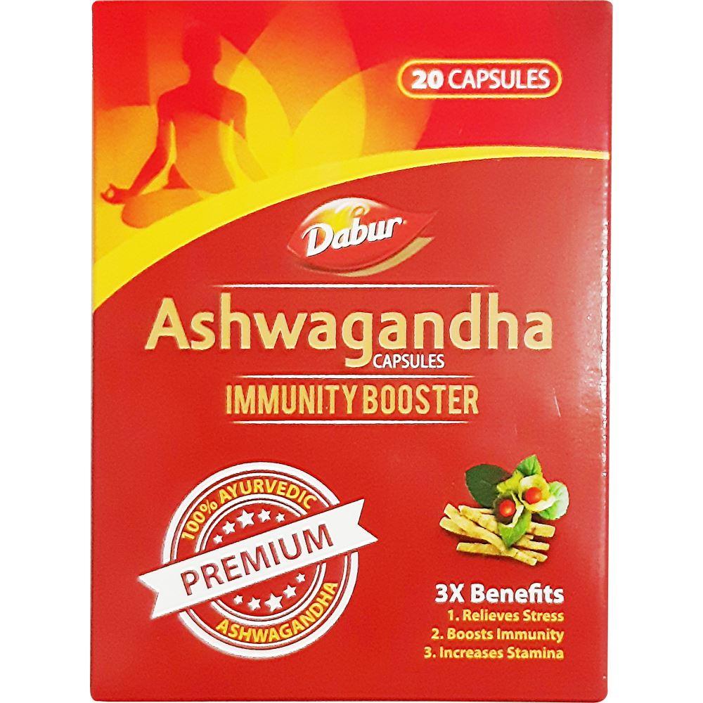 Dabur Ashwagandha Capsules Immunity Booster (20caps)