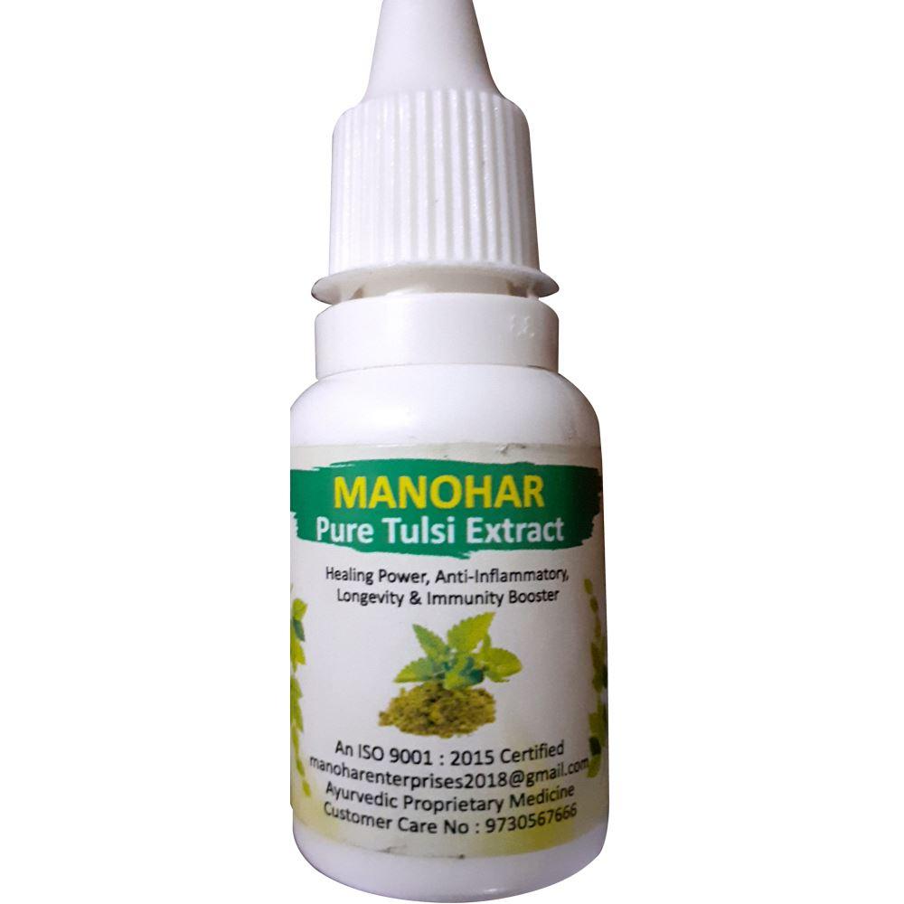 Manohar Tulsi Drops Extract (15ml)
