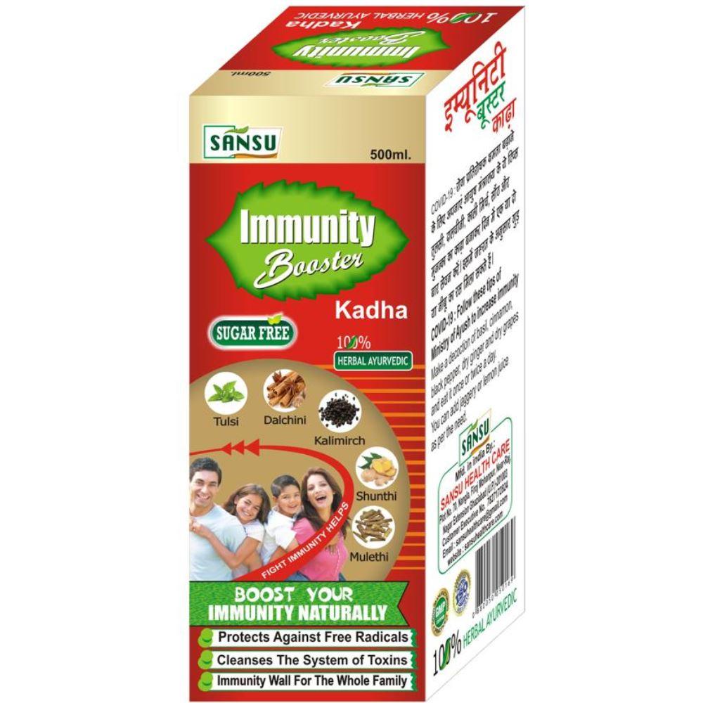 Sansu Sugar Free Imyunity Booster Kadha Covid-19 (500ml)