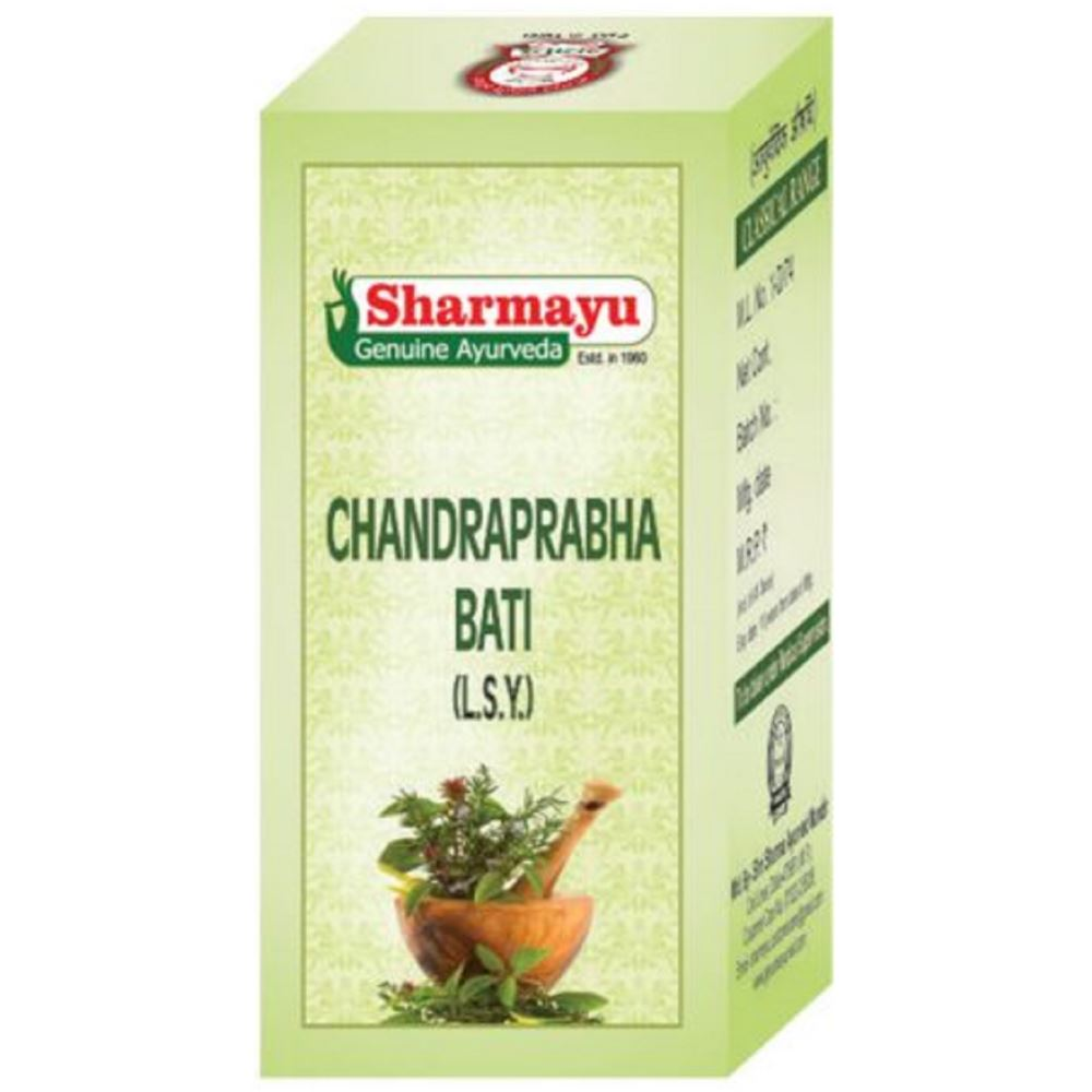 Sharmayu Chandprabha Bati Tablets (50tab, Pack of 2)