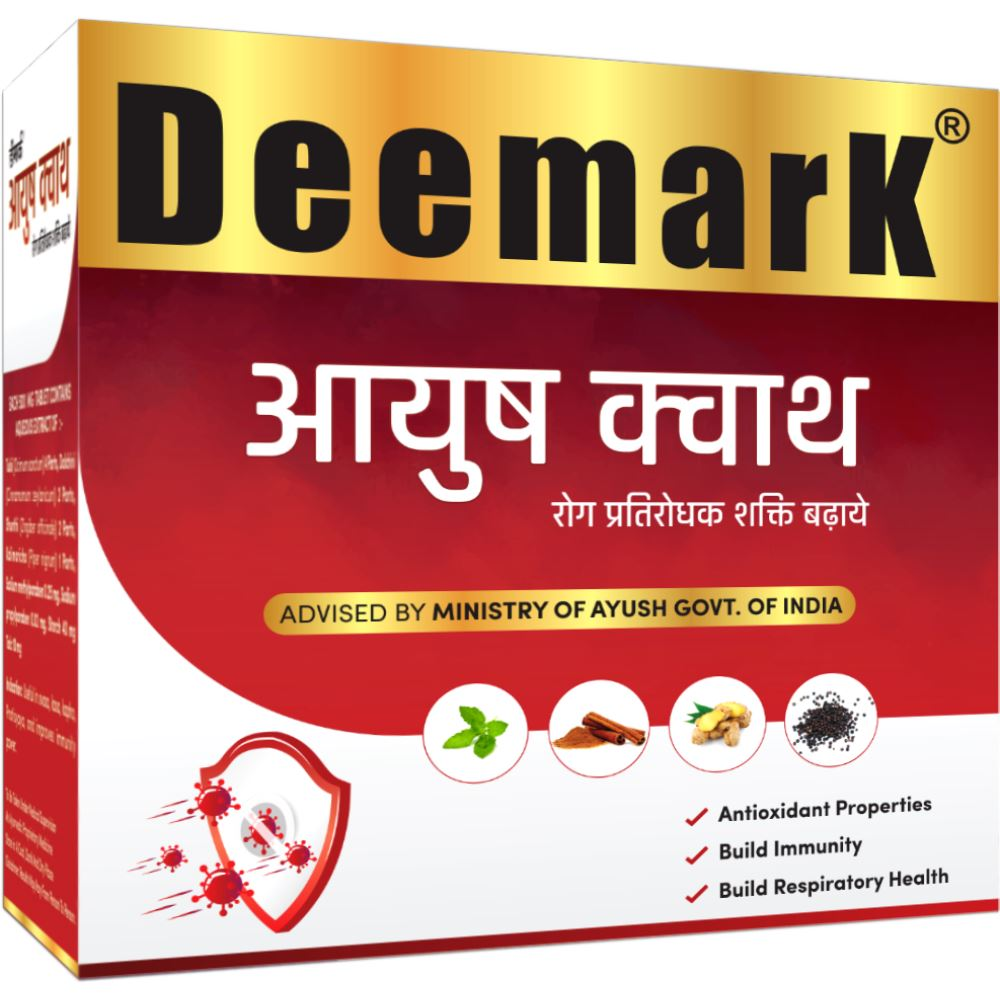 Deemark Ayush Kwath Tablet (60tab, Pack of 6)