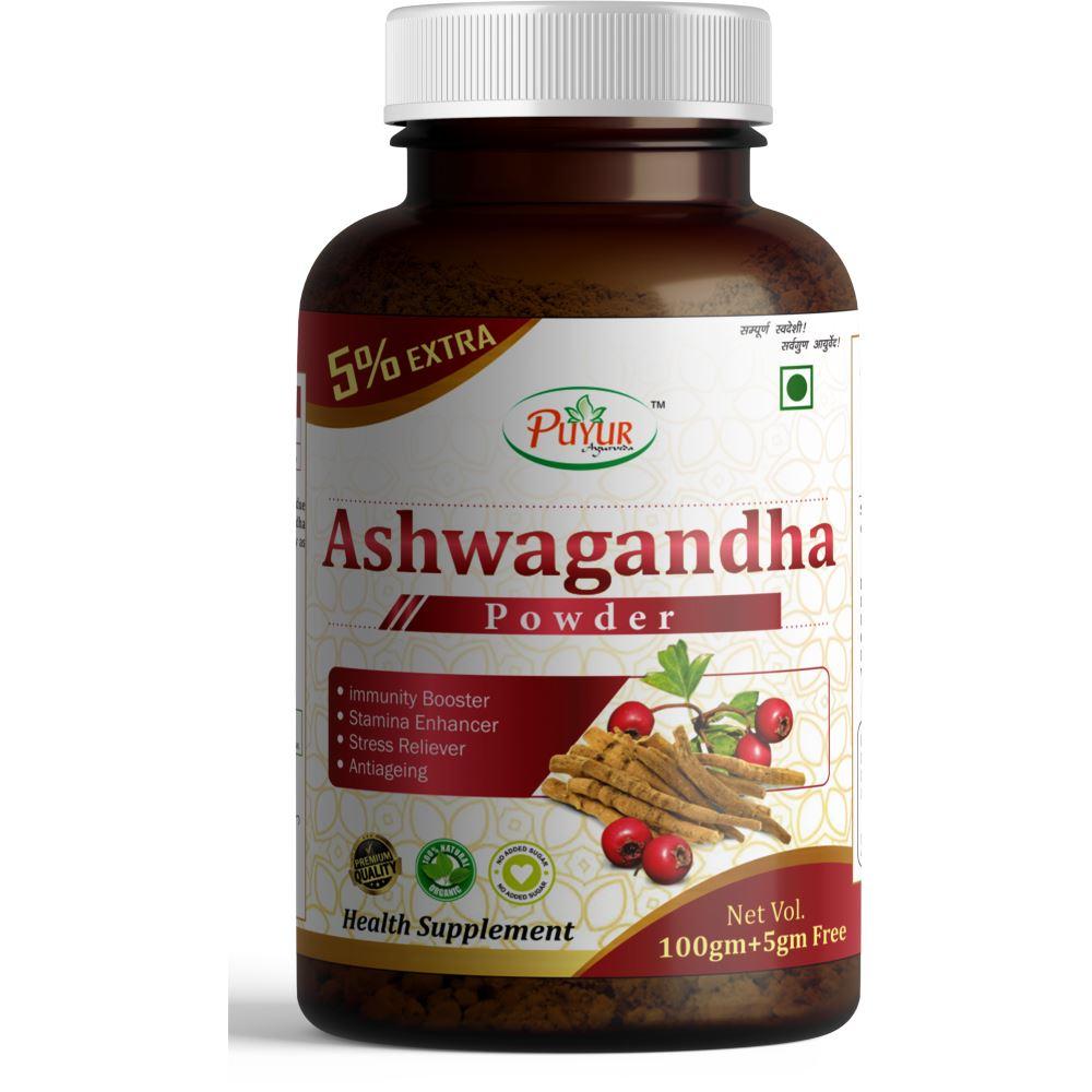 Puyur Ayurveda Ashwagandha Powder (100g)