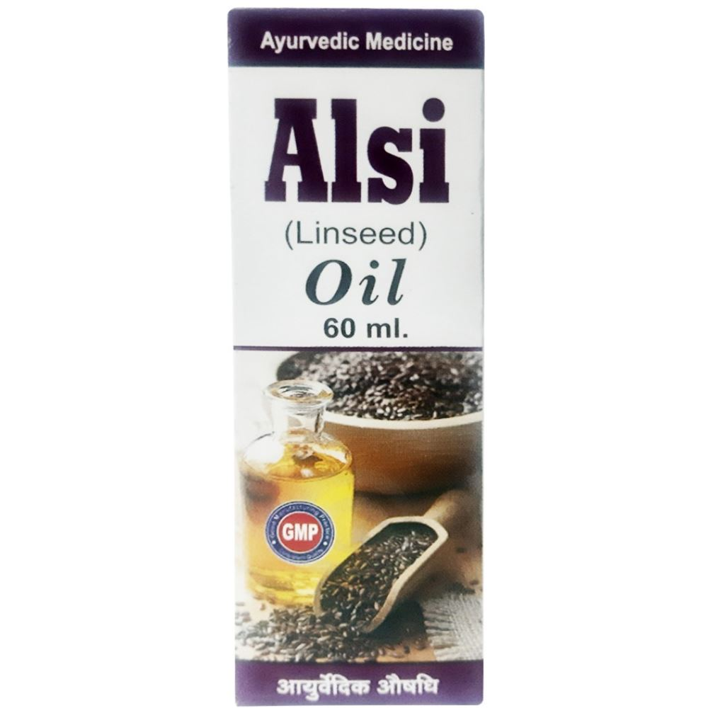 S.K Alsi (Linseed) Oil (60ml)