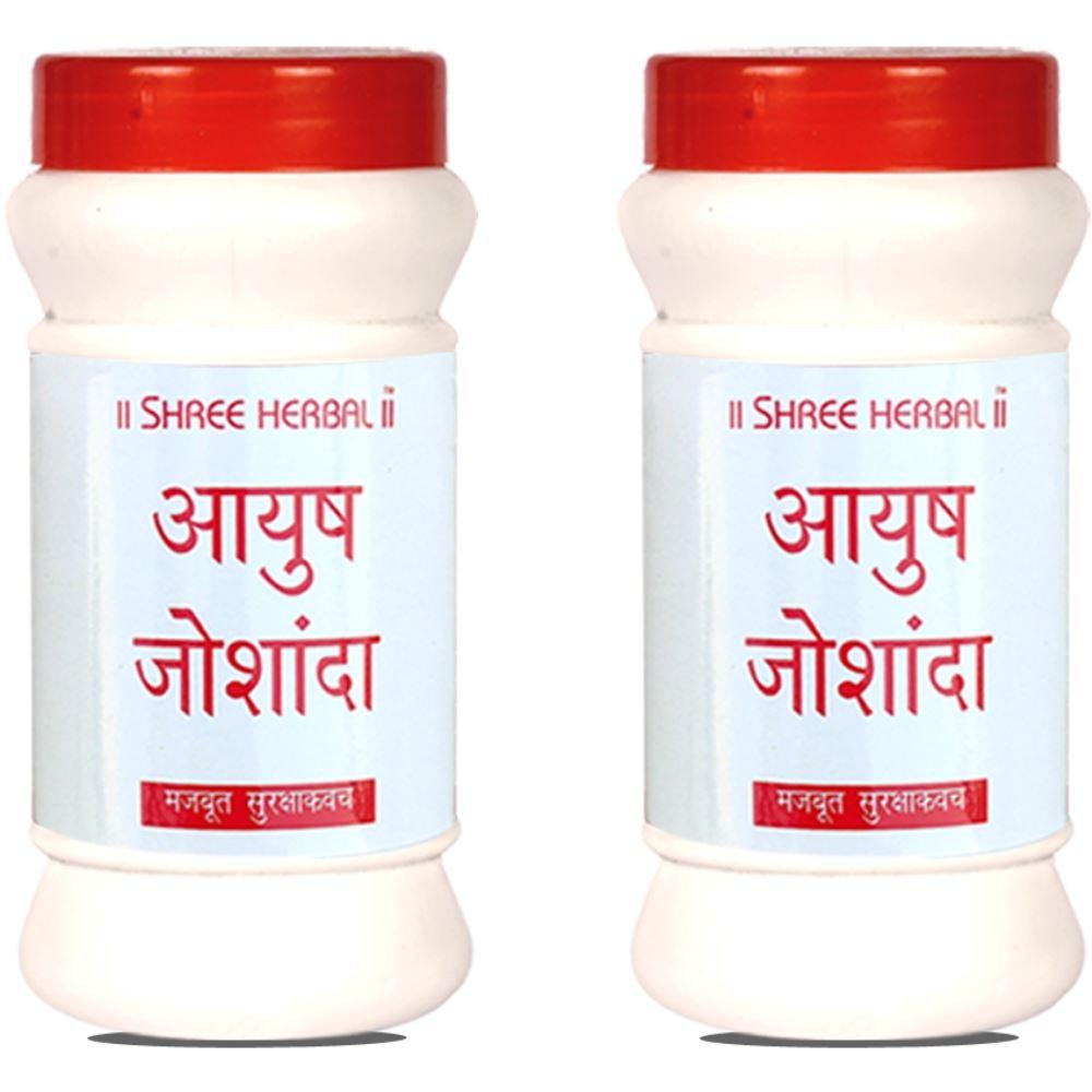 Shree Herbal Ayush Joshanda Tablet (60tab, Pack of 2)