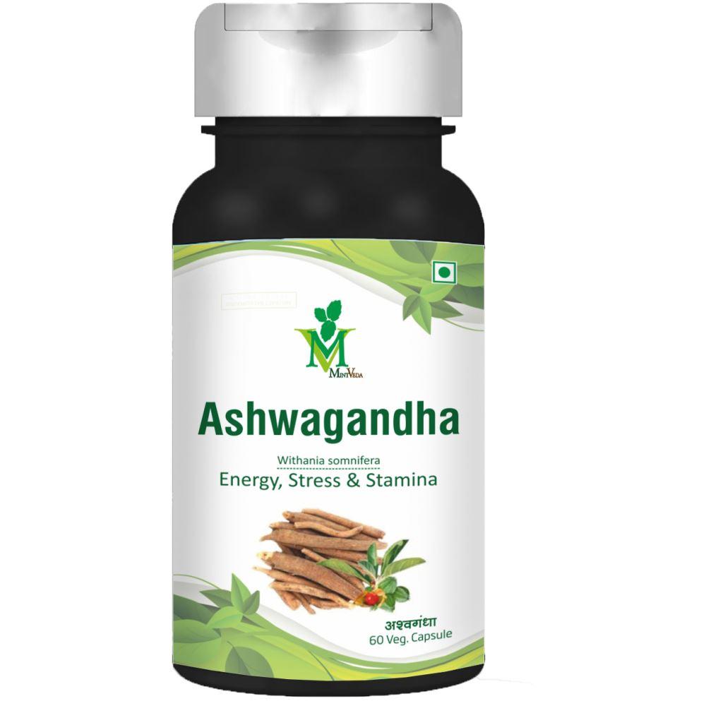 Mint Veda Ashwagandha Veg Capsule (60caps)