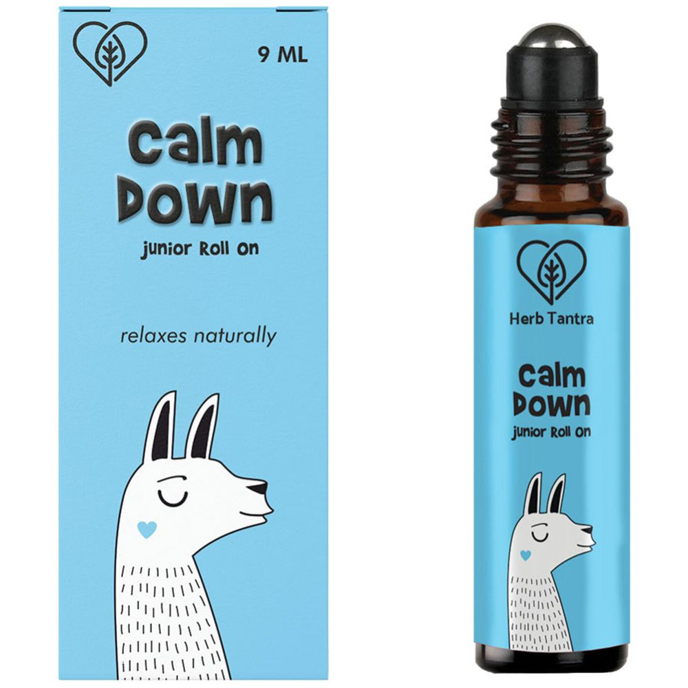 Herb Tantra Calm Down Junior Roll On For Kids (9ml)