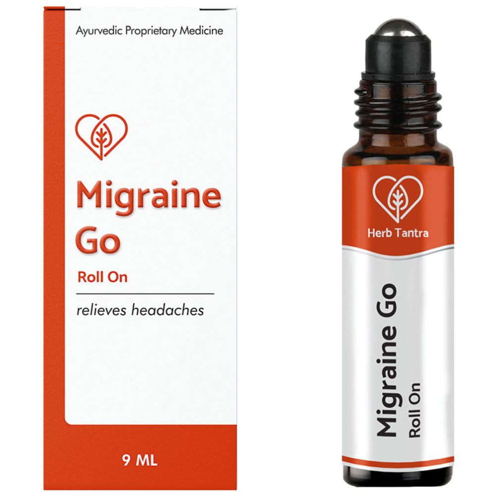 Herb Tantra Migraine Go Headache Relief Roll-On (9ml)