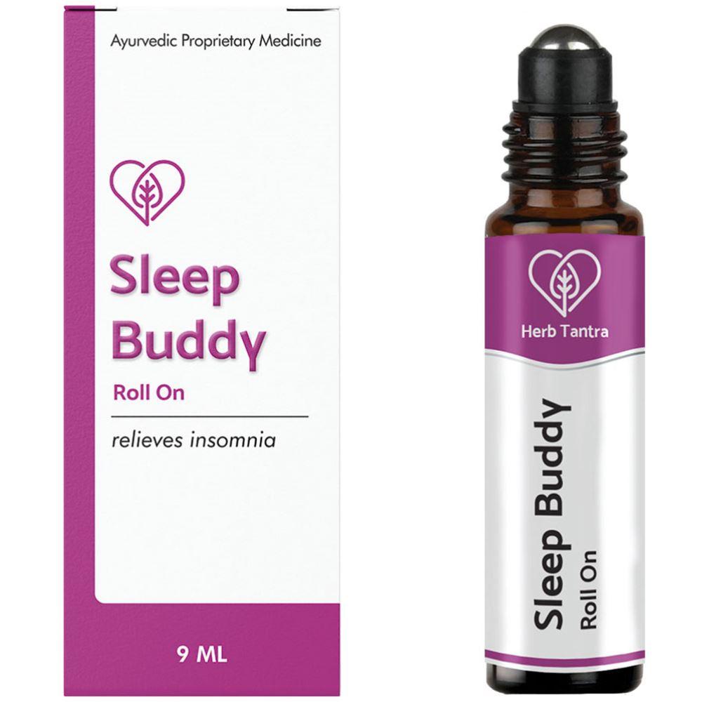 Herb Tantra Sleep Buddy Insomnia Relief Roll-On (9ml)