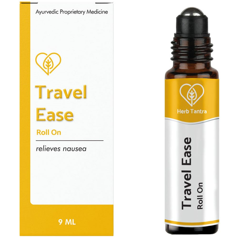 Herb Tantra Travel Ease Motion Sickness Relieving Roll-On (9ml)
