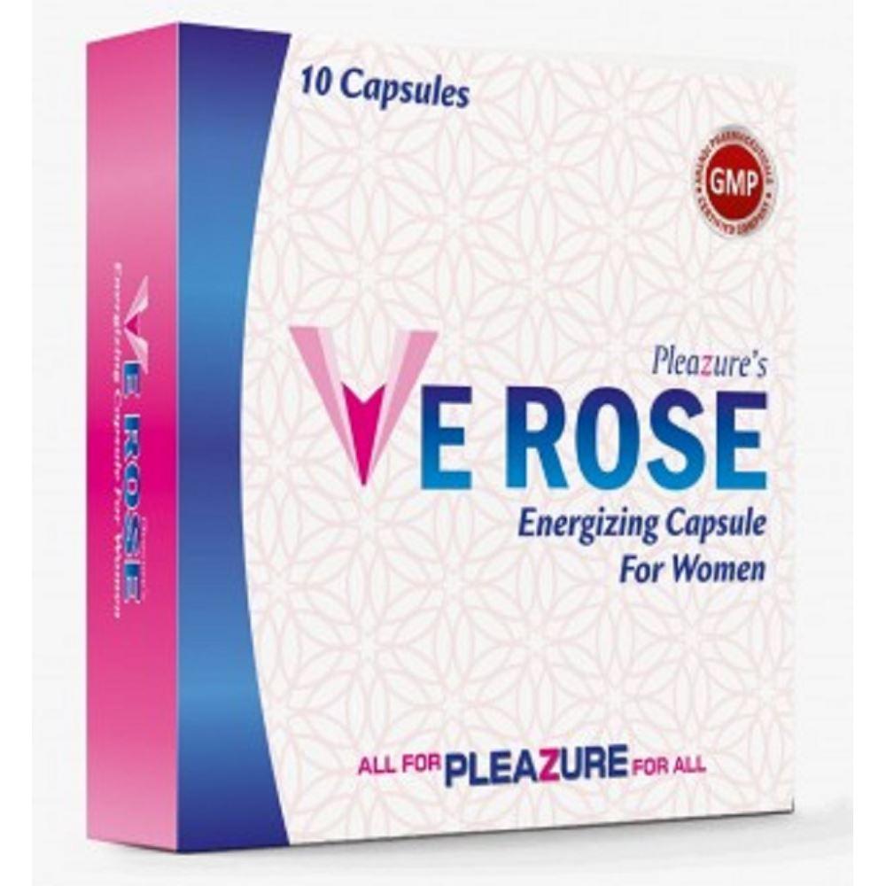 Pleazure's Ve Rose Capsules (10caps)