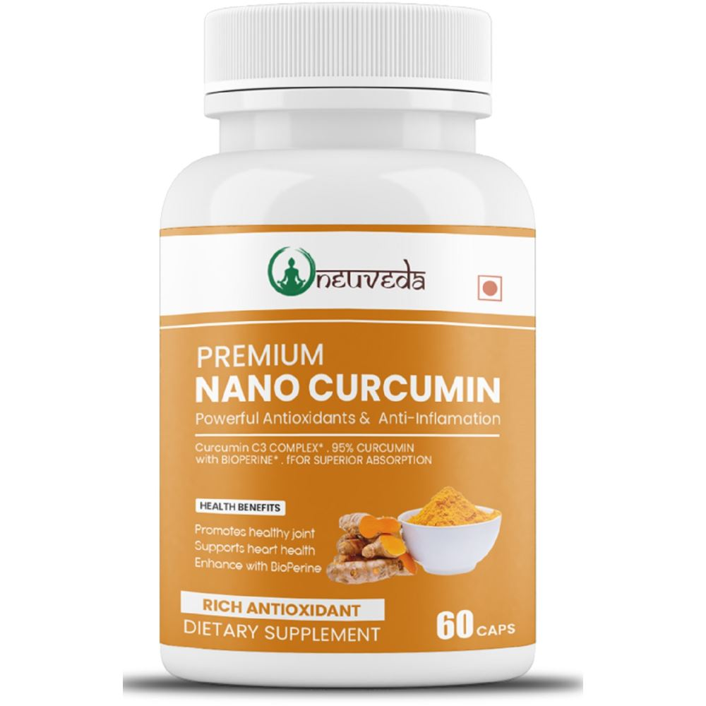 Neuveda Nano Curcumin Extract Capsules 500Mg (60caps)