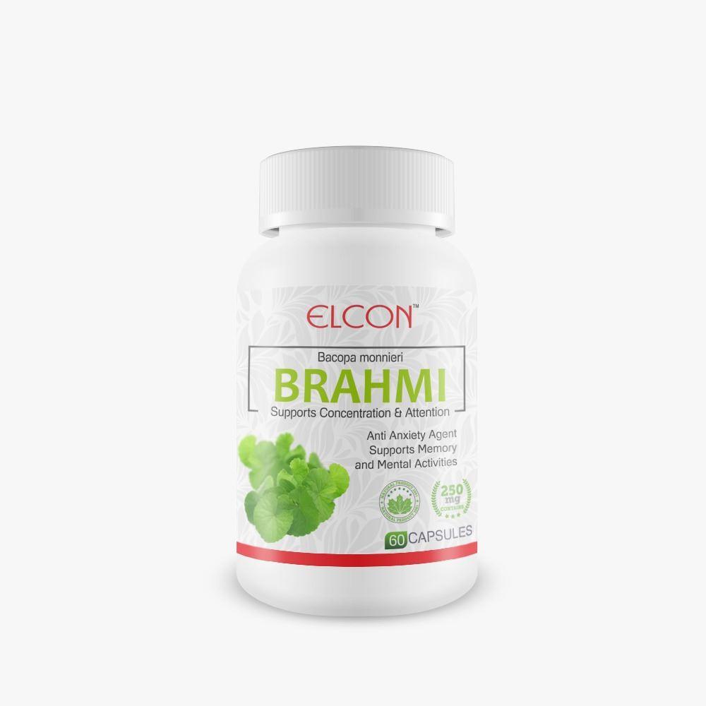 Elcon Brahmi 250Mg Capsule (60caps)