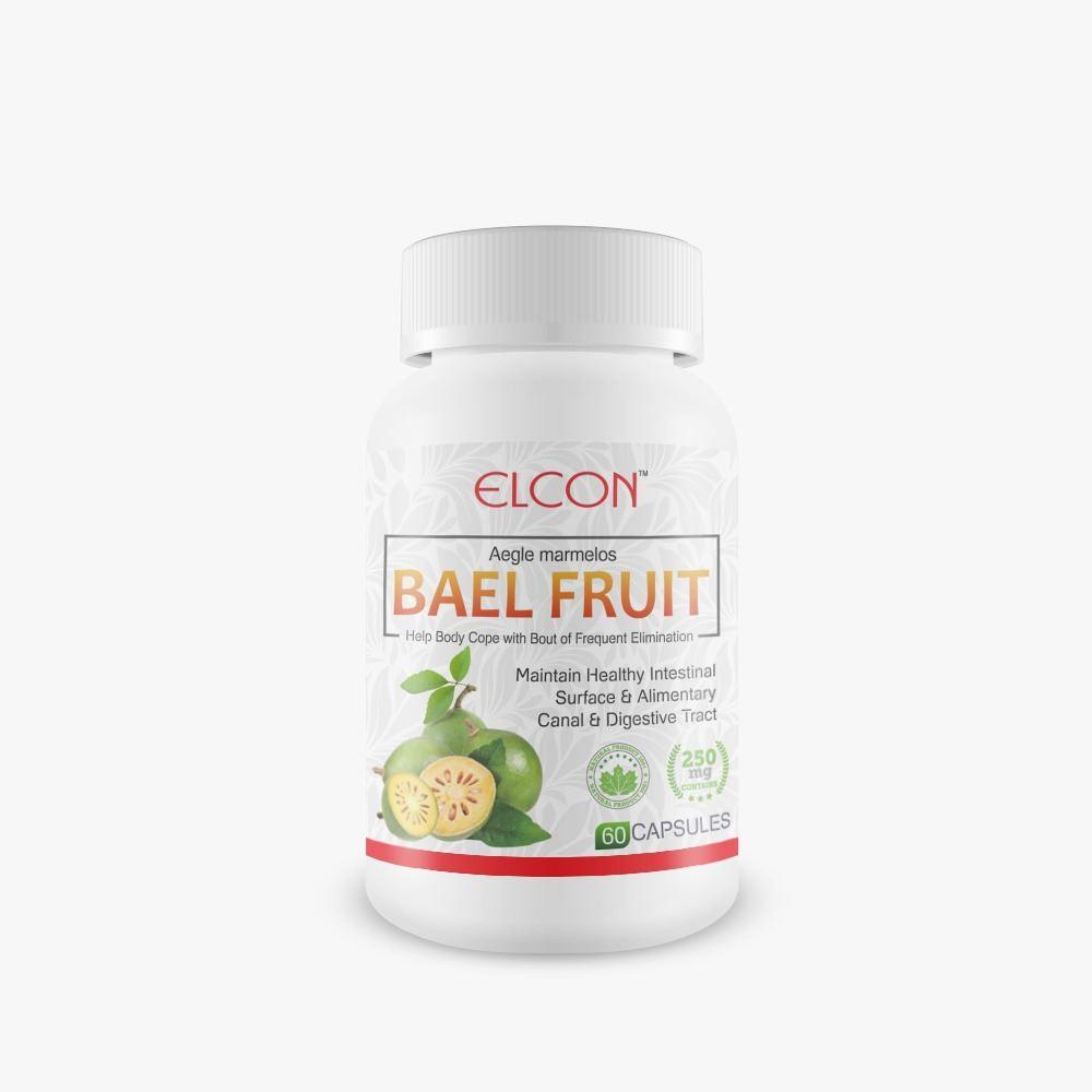 Elcon Bael Fruit 250Mg Capsule (60caps)