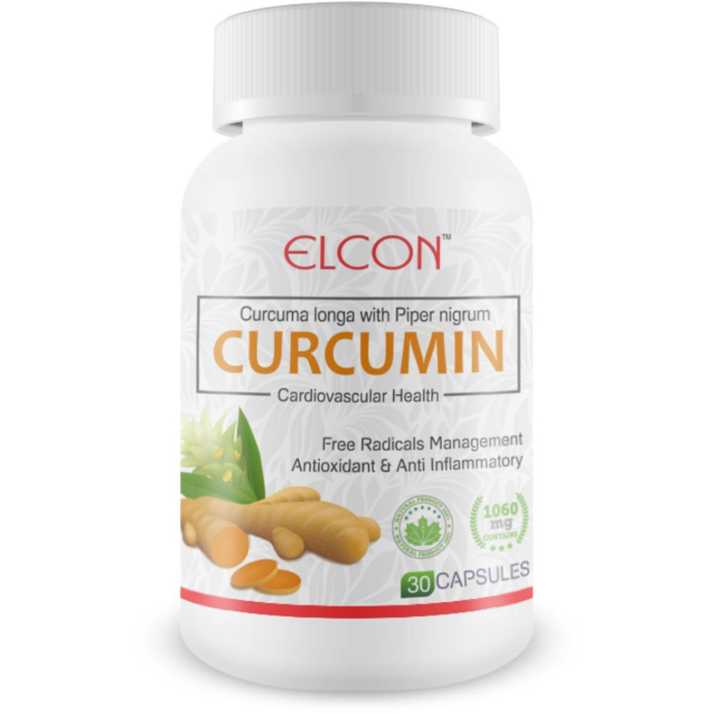 Elcon Curcumin Capsule 500 Mg With Piperine (30caps)