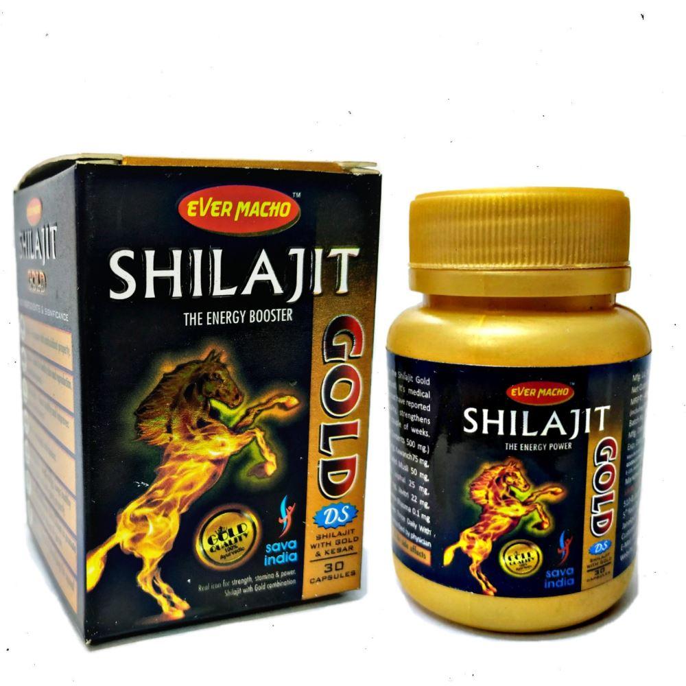 Ever Macho Shilajit Gold DS Capsule (30caps)