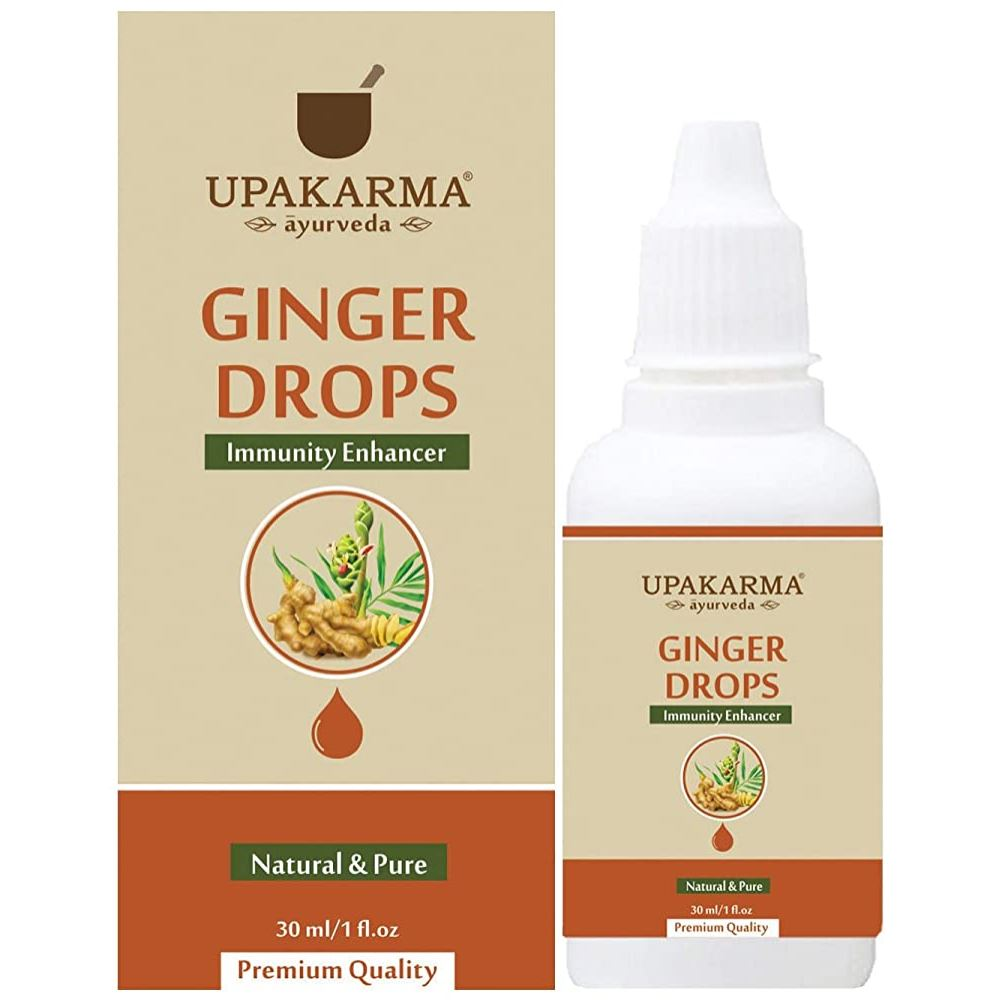 Upakarma Ayurveda Ginger Drops (30ml)
