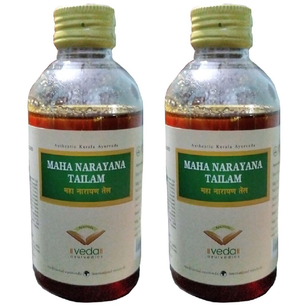Veda Maha Narayana Tailam (200ml, Pack of 2)