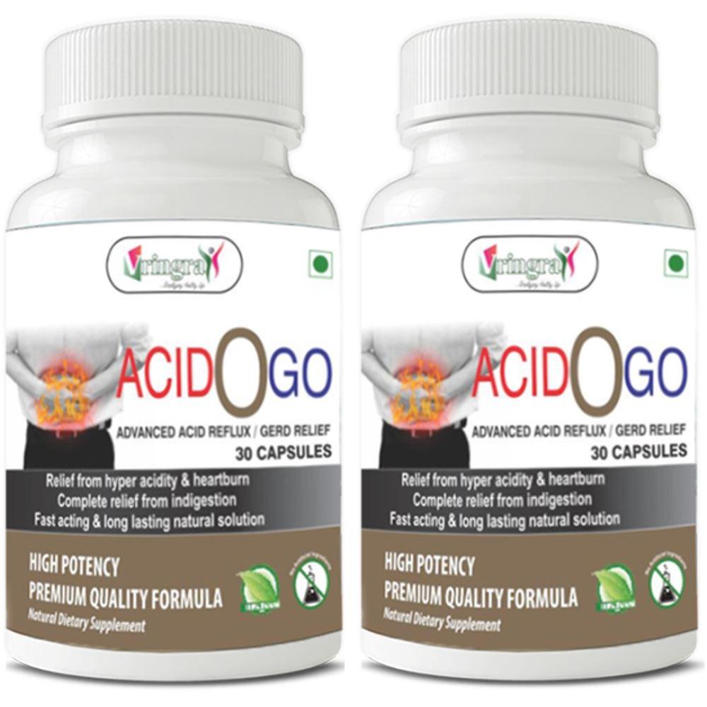 Vringra Acid O Go Capsules (30caps, Pack of 2)
