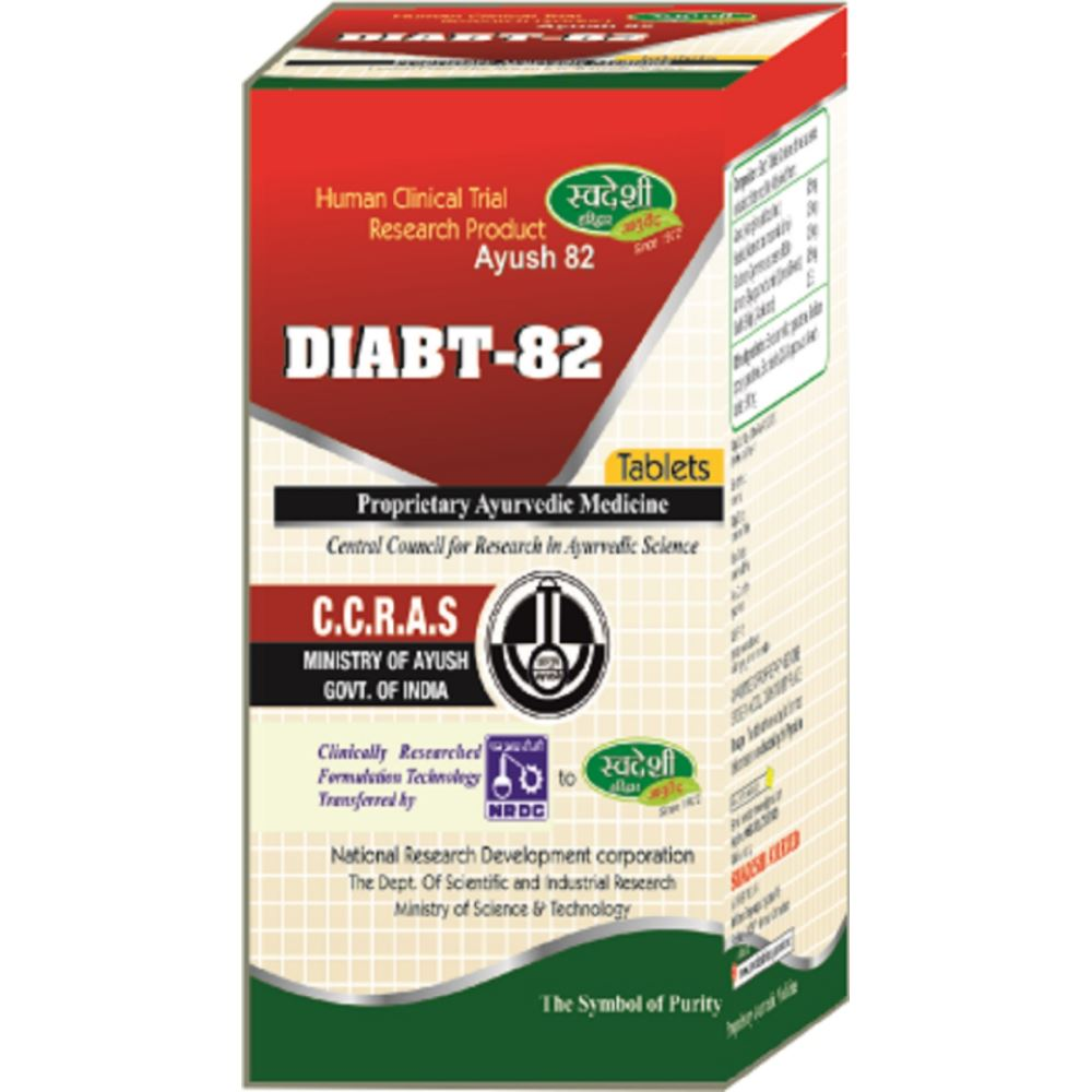 Swadeshi Ayurved Diabt-82 Tablet (60tab)