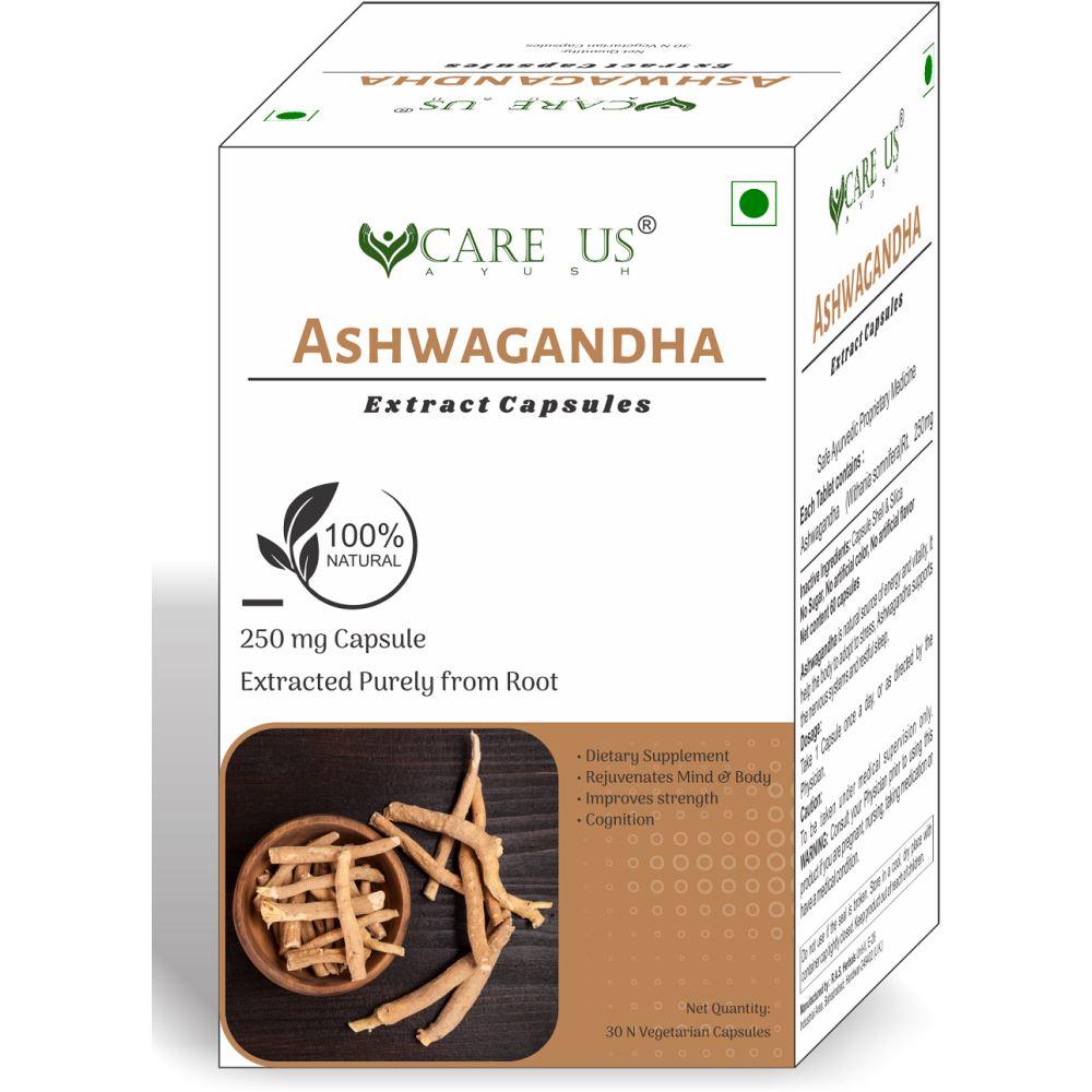 Care Us Ashwagandha Capsules (30tab)