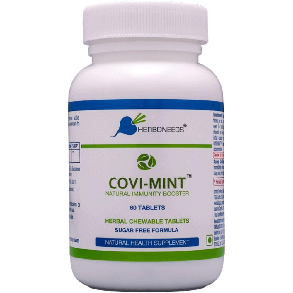 Herboneeds Covi Mint Natural Immunity Booster SF (60tab)