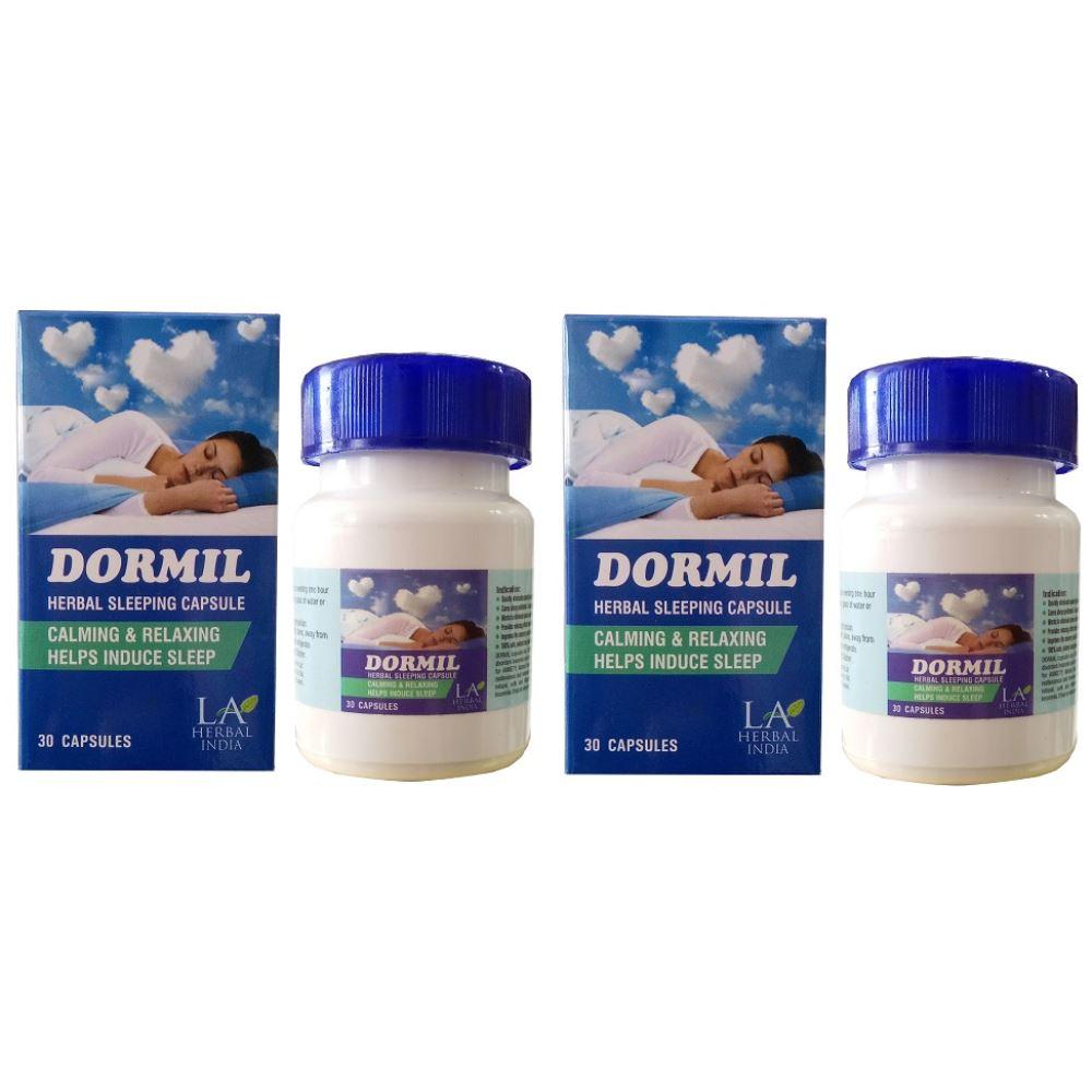 Dormil Herbal Sleeping Capsules (30caps, Pack of 2)