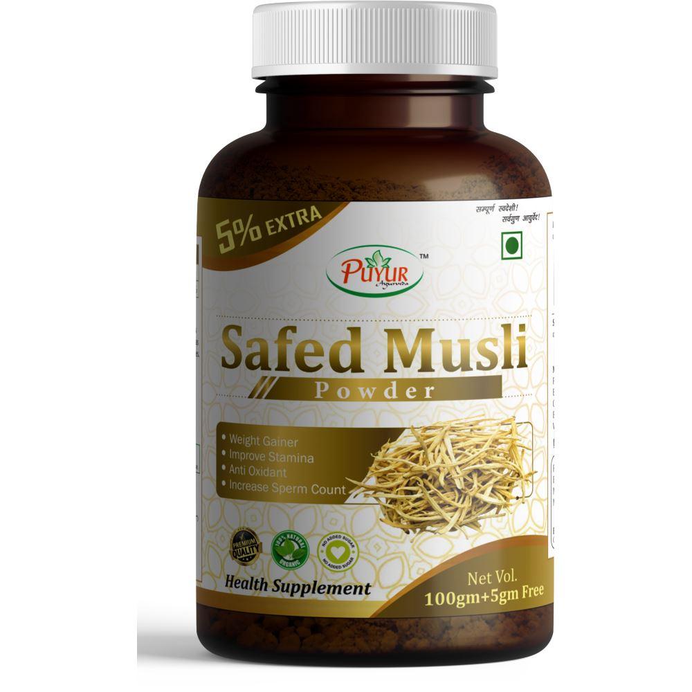 Puyur Ayurveda Safed Musli Powder (100g)