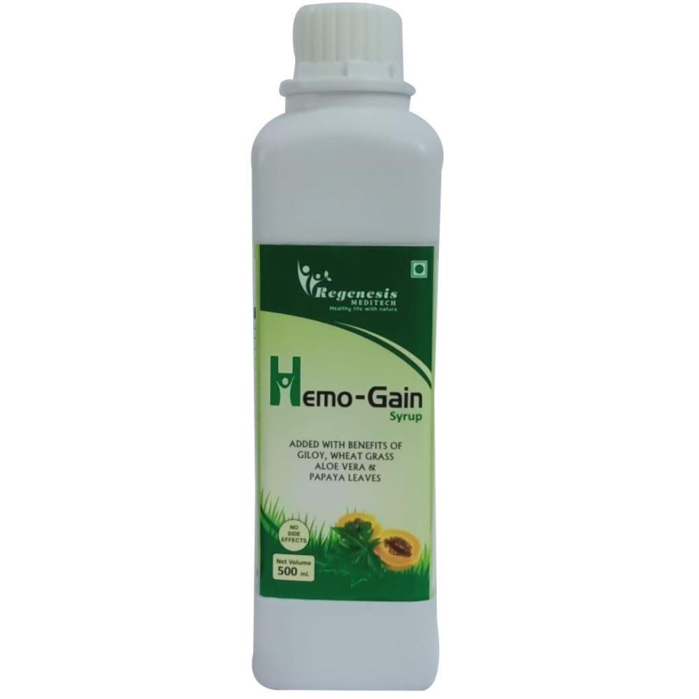 Regenesis Hemogain Syrup (500ml, Pack of 2)