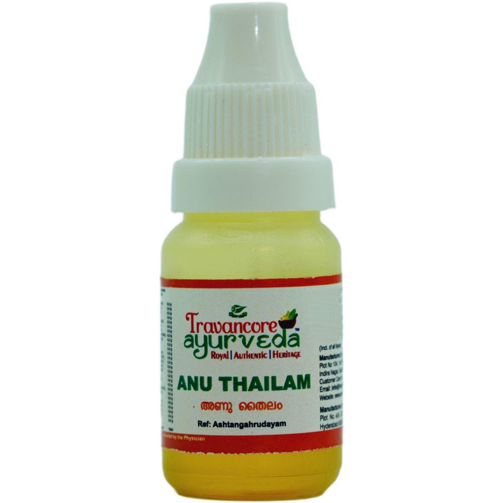 Travancore Ayurveda Anu Thailam (10ml)