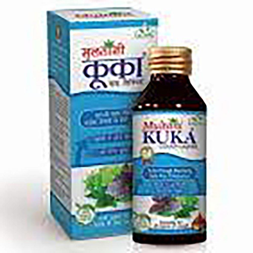 Multani Kuka Tulsi Cough Syrup Sugar Free (100ml)