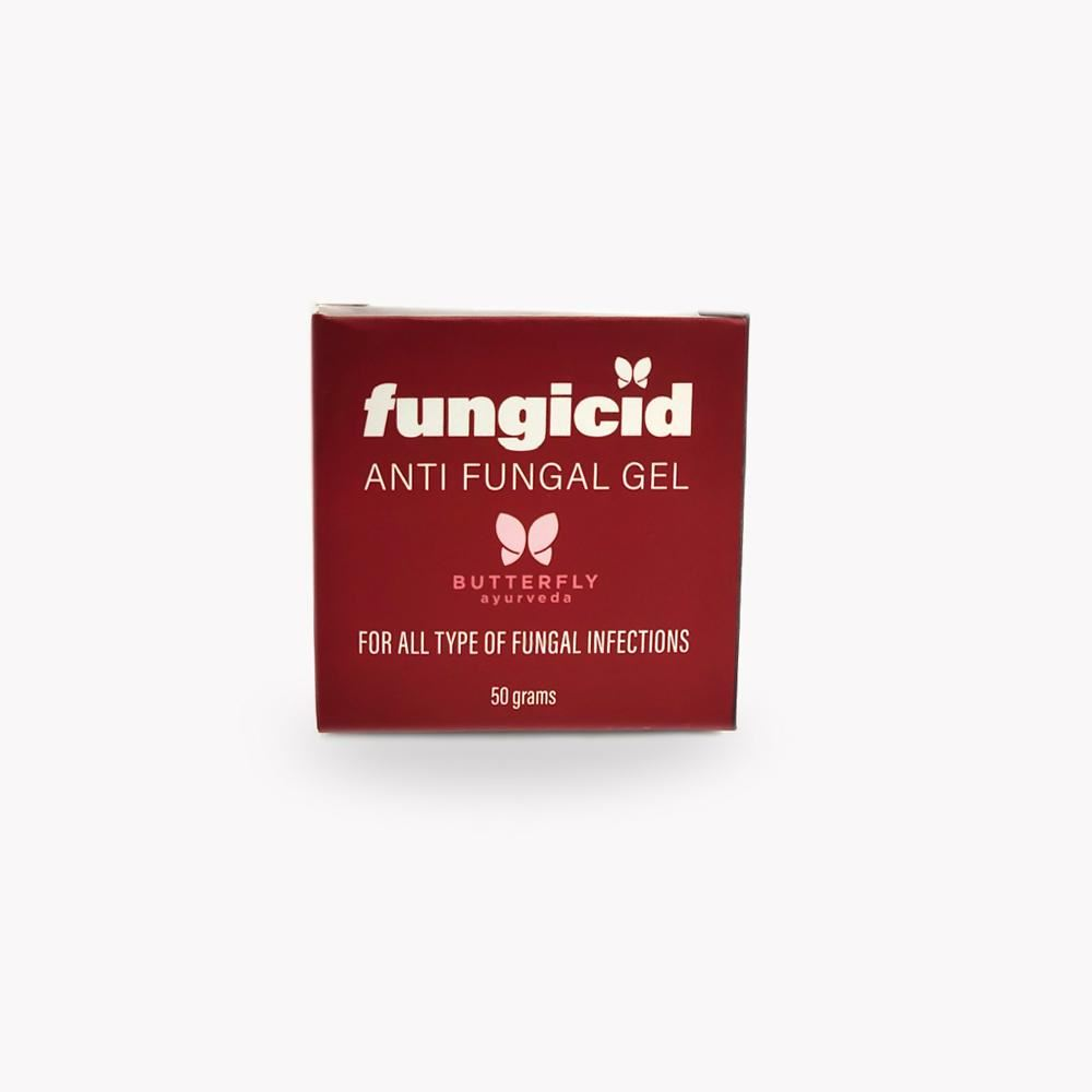 Butterfly Ayurveda Fungicid Gel (Antifungal treatment for all type of fungal infections) (50g)