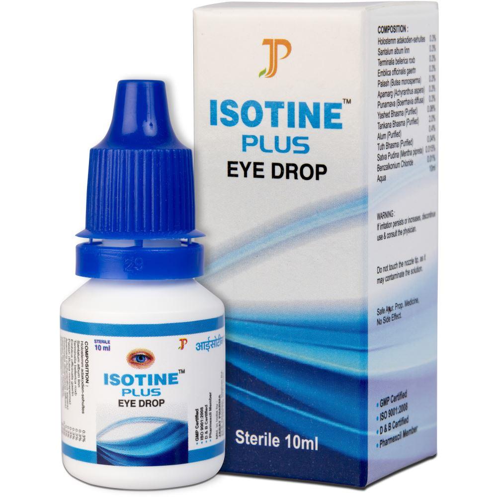 Jagat Pharma Isotine Plus Eye Drop (10ml, Pack of 6)