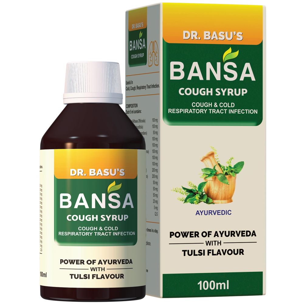 Jagat Pharma Bansa Cough Syrup (100ml)