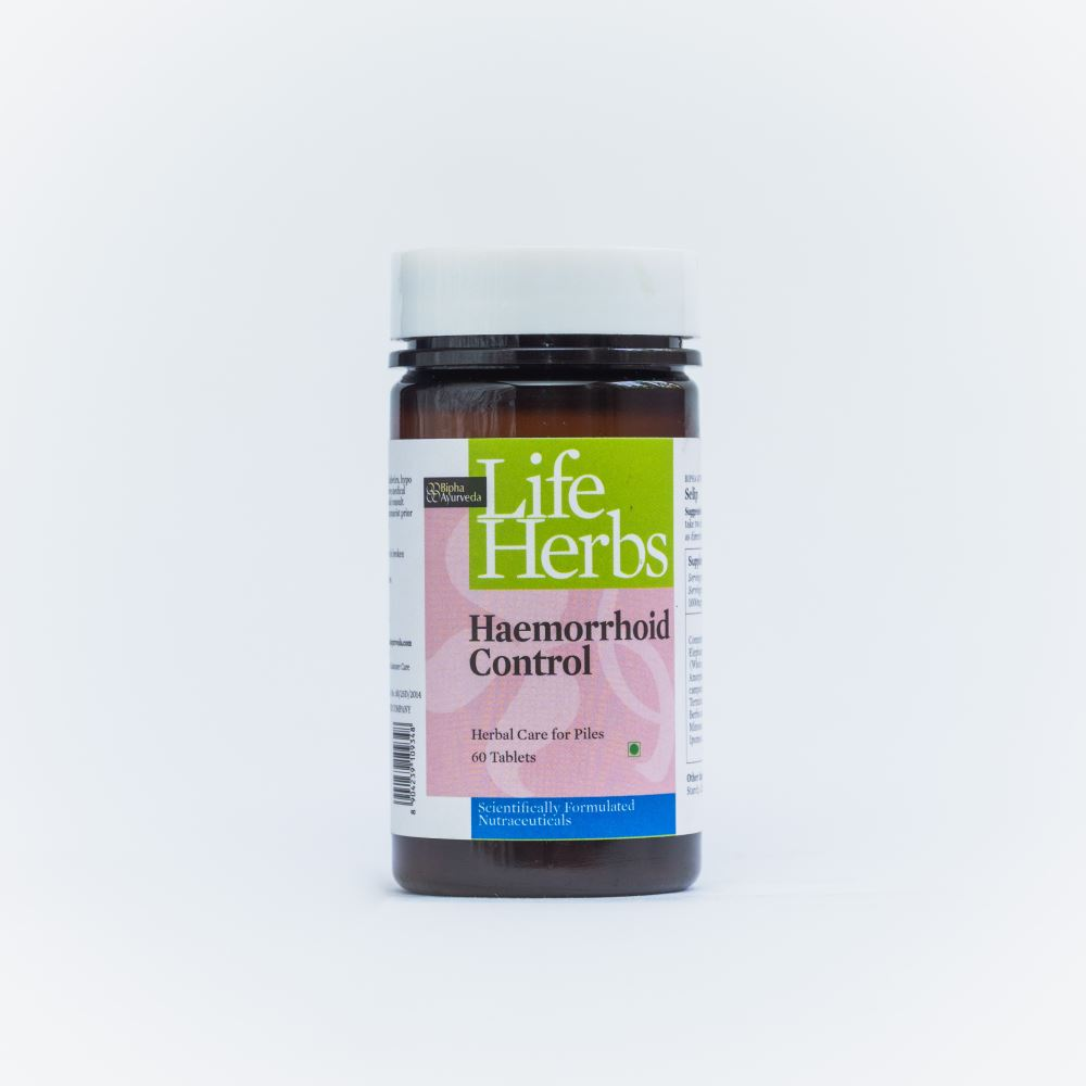 Bipha Ayurveda Haemorrhoid Control (60tab)
